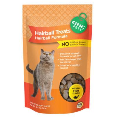 GNC Pets Hairball Formula Cat Treat
