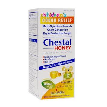 Boiron Children's Chestal Multi-Symptom Formula Cough Syrup, Honey, 6.7 fl oz