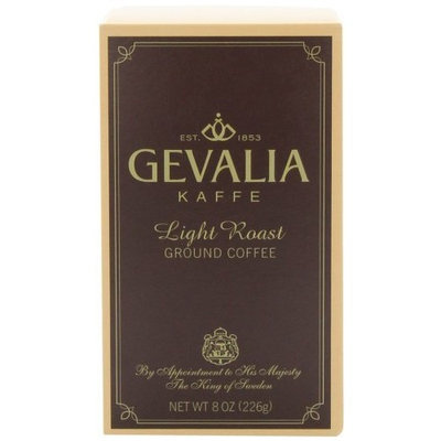Gevalia Light Roast Ground Coffee, 8-Ounce Packages (Pack of 3)