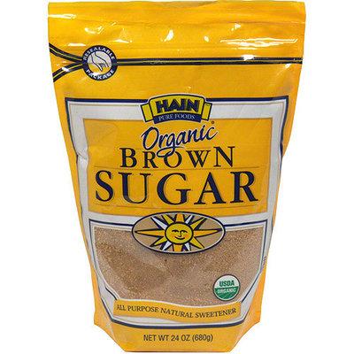 Hain Pure Foods Organic Brown Sugar, 24 oz (Pack of 12)