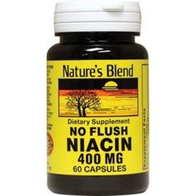 Nature's Blend No Flush Niacin 400 mg 60 Caps