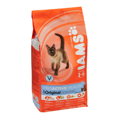 Iams ProActive Health Original With Ocean Fish & Rice Adult Cats 1-6 Years