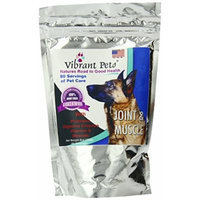 Vibrant Pets Joint and Muscle Diet Supplements, 7.2 Ounce