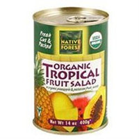 NATIVE FOREST Organic Tropical Fruit Salad 14 OZ