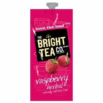 Flavia Tea, Raspberry Herbal, 20-count Fresh Packs (Pack of 1 Rail)