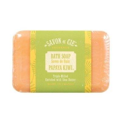 Savon Et Cie Bar Soap Papaya Kiwi