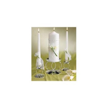 Weddingstar 1019 Bridal Beauty Calla Lily Unity Pillar Candle