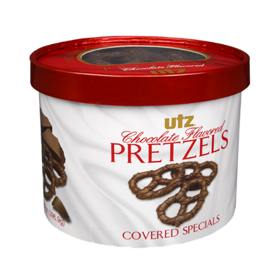 Utz Chocolate Flavored Covered Pretzels