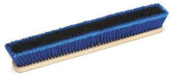 LAITNER 14261242 Push Broom Head, Gnrl Prps, Blue/Gry,24 in