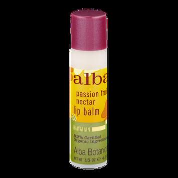 Alba Botanica Lip Balm Passion Fruit Nectar