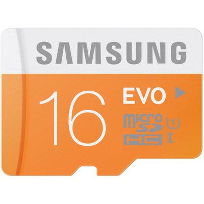 Samsung 16GB EVO Class 10 microSD Card with Adapter