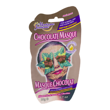 Montagne Jeunesse Chocolate Masque for Normal, Dry and T-Zone Skin Anti-Stress