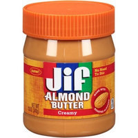 Jif Creamy Almond Butter, 12 OZ (Pack of 6)