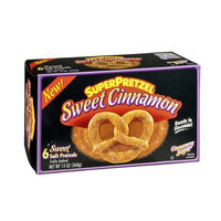 SuperPretzel Soft Pretzels Sweet Cinnamon - 6 CT
