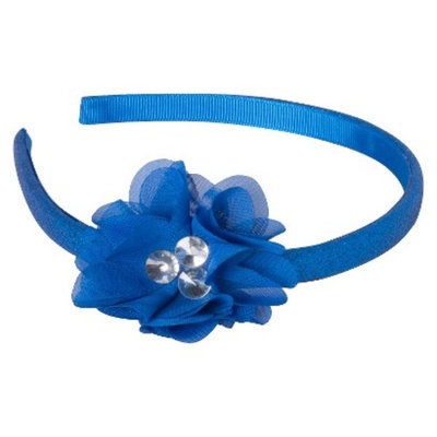 Remington Glitter Flower Headband - Blue