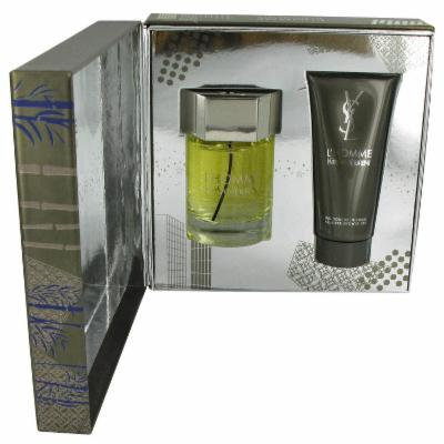 L'homme for Men by Yves Saint Laurent, Gift Set - 3.4 oz Eau De Toilette Spray + 3.4 oz Shower Gel
