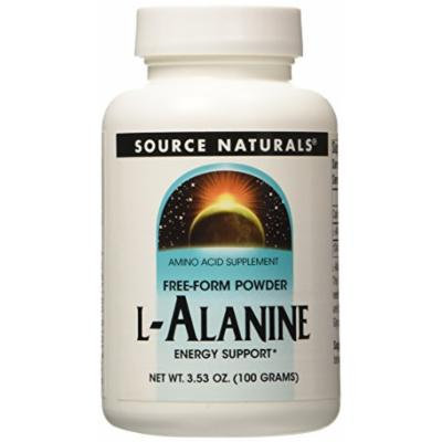 Source Naturals L-Alanine Powder, 3.53 oz (100 gms)