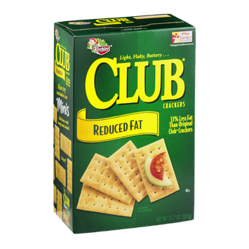Keebler Club Crackers Reduced Fat