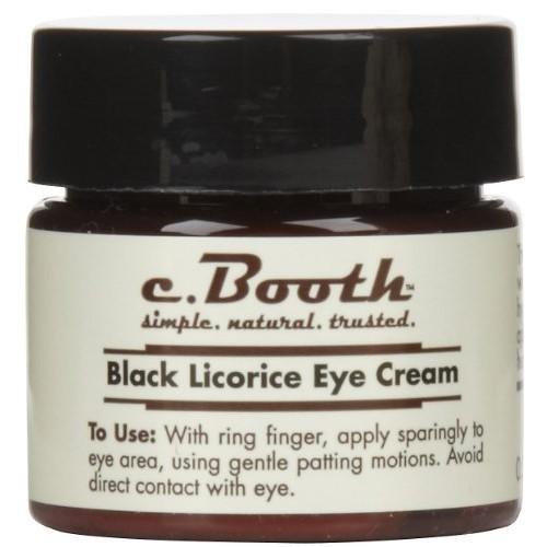 c. Booth Eye Cream, Black Licorice - 0.5 oz