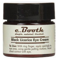 c. Booth Eye Cream, Black Licorice - 0.5 oz