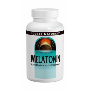 Source Naturals Melatonin, for Occasional Sleeplessness