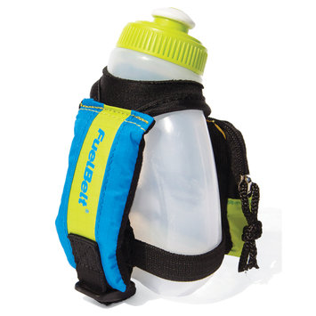 Fuel Belt Inc Kids Dash Palm Holder The Brazilian-Green/Blue/Yellow OS