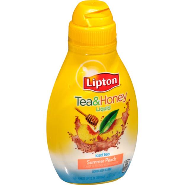 Lipton® Tea & Honey Liquid Iced Tea Mix, Summer Peach