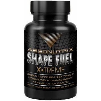 Absonutrix Shape Fuel xtreme with green coffee bean extract weight loss supplement