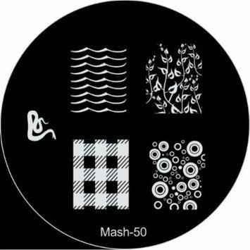 MASH Nail Art Stamp Stamping Image Plate No 50