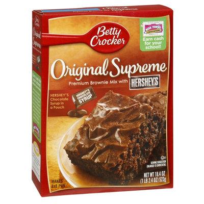 Betty Crocker™ Original Supreme  Premium Brownie Mixwith Hersheys