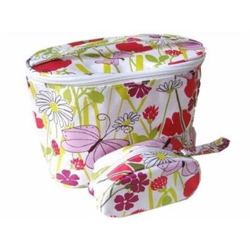 Clinique Spring Floral Cosmetic Bag Set