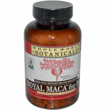 Whole World Botanicals Royal Maca for Men -- 507 mg - 180 Vegetarian Capsules
