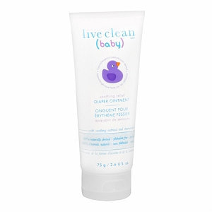 Live Clean Baby Soothing Relief Diaper Ointment