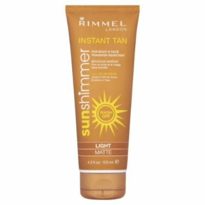 Rimmel London Sunshimmer Instant Tan Shimmer Water Resistant