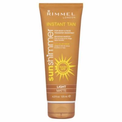 Rimmel London Sunshimmer Instant Tan Shimmer Water Resistant