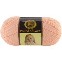 Orchard Yarn & Thread Co. Lion Brand Pound Of Love Baby Yarn Creamsicle