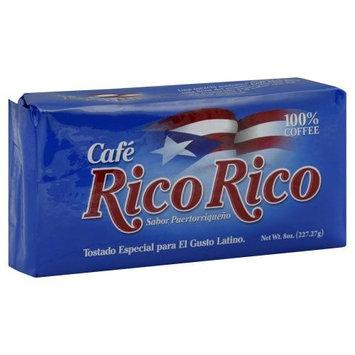 Cafe Rico Rico, 100% pure Ground Coffee, Sabor Puertorriqueno, 8.8 oz