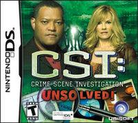 UbiSoft CSI: Unsolved