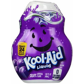 Kool-Aid Liquid Drink Mix - GRAPE 1.62oz (Pack of 4)
