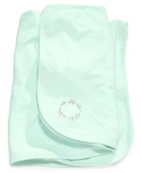 Little Me Baby Girls' Aqua Rose Blanket Kid's