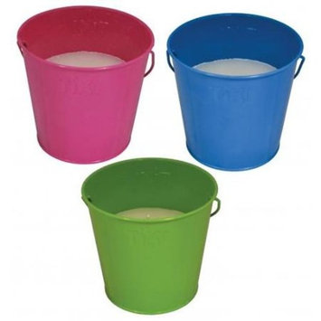 TIKI LAMPLIGHT FARMS Citronella Summer Fun Bucket, Assorted Colors, 17-oz.