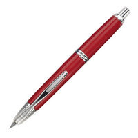 Namiki Vanishing Point Fountain Pen Red & Silver - Md