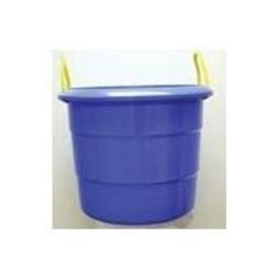 Fortiflex Multi-Purpose Storage Bucket for Dogs/Cats and Horses, 74-Quart, Sky Blue