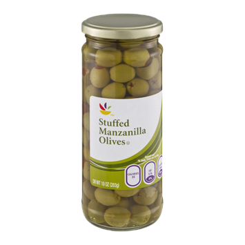 Ahold Manzanilla Olives Stuffed