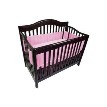 BreathableBaby Breathable Mesh Crib Liner - Fresh Bloom