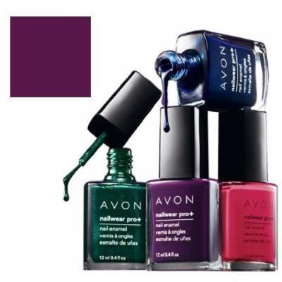 Avon Nailwear Pro Plum Seduction