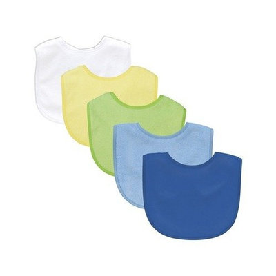 I Play Basic Waterproof Absorbent Bib (5 Pack)