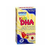 ReNew Life Omega Smart Kids DHA, Chewable Softgels, Fruit Punch 60 ea