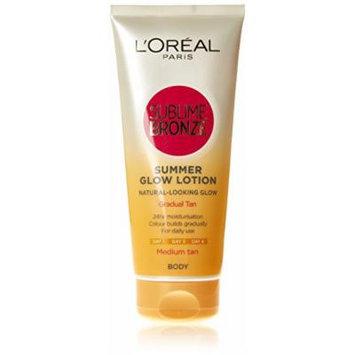 L'Oréal Paris Sublime Bronze 24Hr Moisturising Lotion Gradual Sunkissed Look (Medium Skin)