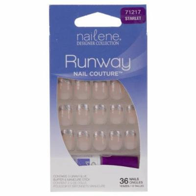 Nailene Designer Collection Runway Nail Couture False Nails - Starlet (71217)